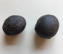 Moqiu Marbles Paar -  Größeweiblich  46 x 40mm,männlich 50 x 40 mm, Gewicht 145 Gramm- Utah USA
