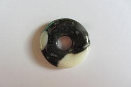 Zebramarmor Donut 30 mm Durchmesser