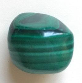 Malachit Trommelstein 27 x 20 mm