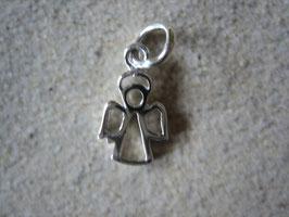 925-Silberanhänger – Engel 11 x 9 x 1 mm