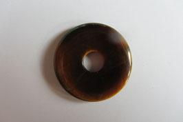 Tigerauge Donut 25 mm Ø Anhänger