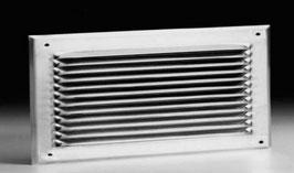 Lüftungsblech aus Aluminium horizontal