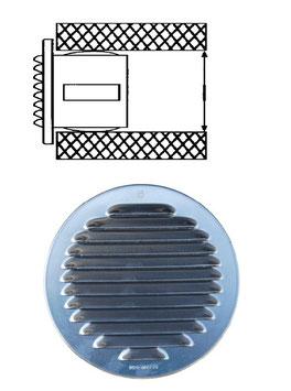 Ventilationseinsatz aus Aluminium