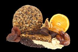 Pan de Frutas, Orange-Schoko