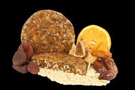 Pan de Frutas, Orange-Mandel