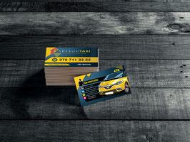 Taxi Villiger Visitenkarten