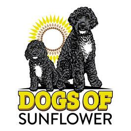 Dogs of Sunflower Logo