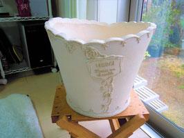 植木鉢 9号ファイバー入り(0084)ガーデニング インテリア 観葉植物用 フレンチポット