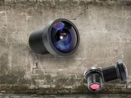 "Lens ""GOPRO"" RC25G 2.5mm 170 graden"