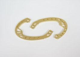 Dquad roll cage kleur Gold (2x)
