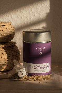 Vital & Relax Wellness Tea Kräuter- & Früchteaufguss