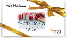 Tarjeta Regalo de Navidad - 50€