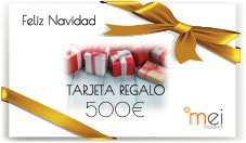Tarjeta Regalo de Navidad - 500€