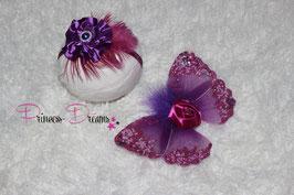 Flügel lila/plum ab Newborn