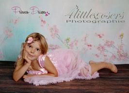 Chiffonkleid rosa 2,5-6 Jahre