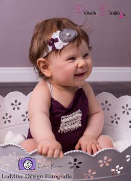 Set: Overall lila Sitzkinder & HB ca.6-12 Monate
