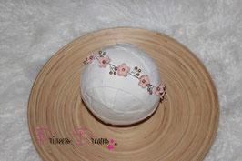 Blütenkranz für Newborns- ca. 2/3Monate  zum Binden rose