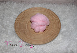 Neu! Strick-Mohair Musterwrap rosa