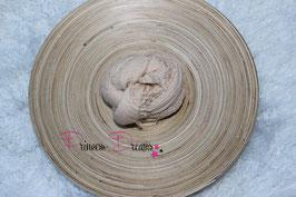 Musselin-Fransentuch creme/beige (40)