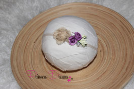 SHB Blumen tan,lila,creme