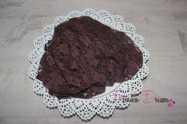 Spitzentuch dark braun