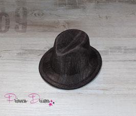 Jungen Hut dunkelbraun
