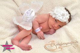 Flügel weiß ab Newborn