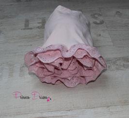 Rüschenwrap rosa