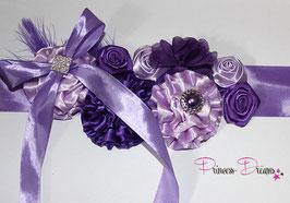 Bauchband lila/flieder