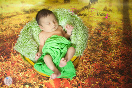 Wickeltuch grün