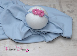 Set: Jersey-Pucktuch & VHB683 babyblau