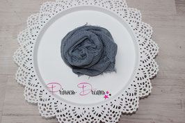Musselin-Fransentuch denim jeansblau  (28)