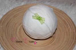 VHB488 grün weiße Punkte