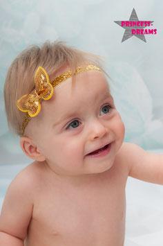 HB366 Pailetten Schmetterling GOLD