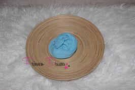 Neu Wollwrap dünn babyblau