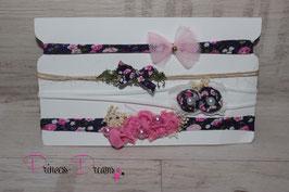 SHB Flower lila Set oder einzeln
