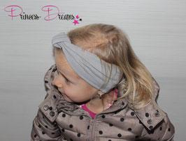 Knoten-Stirnband ab KU40 grau