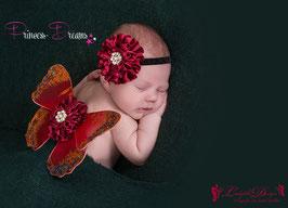 NEU!! Flügel Set rot Newborn