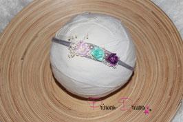 SHB Blumen rosa, lila, mint