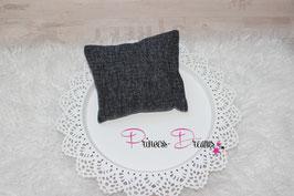 Pillow Strick grau