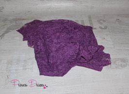 Spitzentuch lila