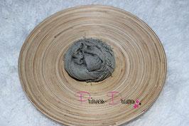 Musselin-Fransentuch khaki (32)