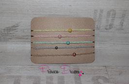 Häkelband Mohair mit Perle in viele Farben