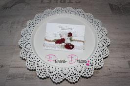 3er Spar Set XMAS Weihnachtsbänder rot weiß