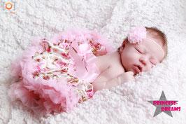 Tutu Blumen/rosa