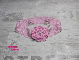 Häkelblume rosa B01