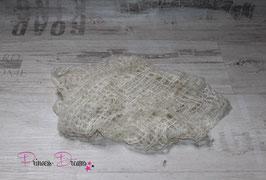 Mohairtuch groß creme/beige(5)