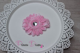 rosa Blumenband
