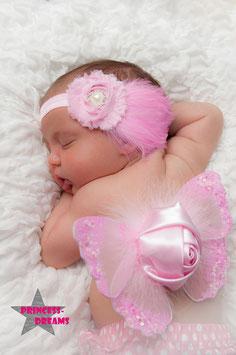Flügel rosa ab Newborn
