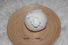 SHB Blume Vintage weiß